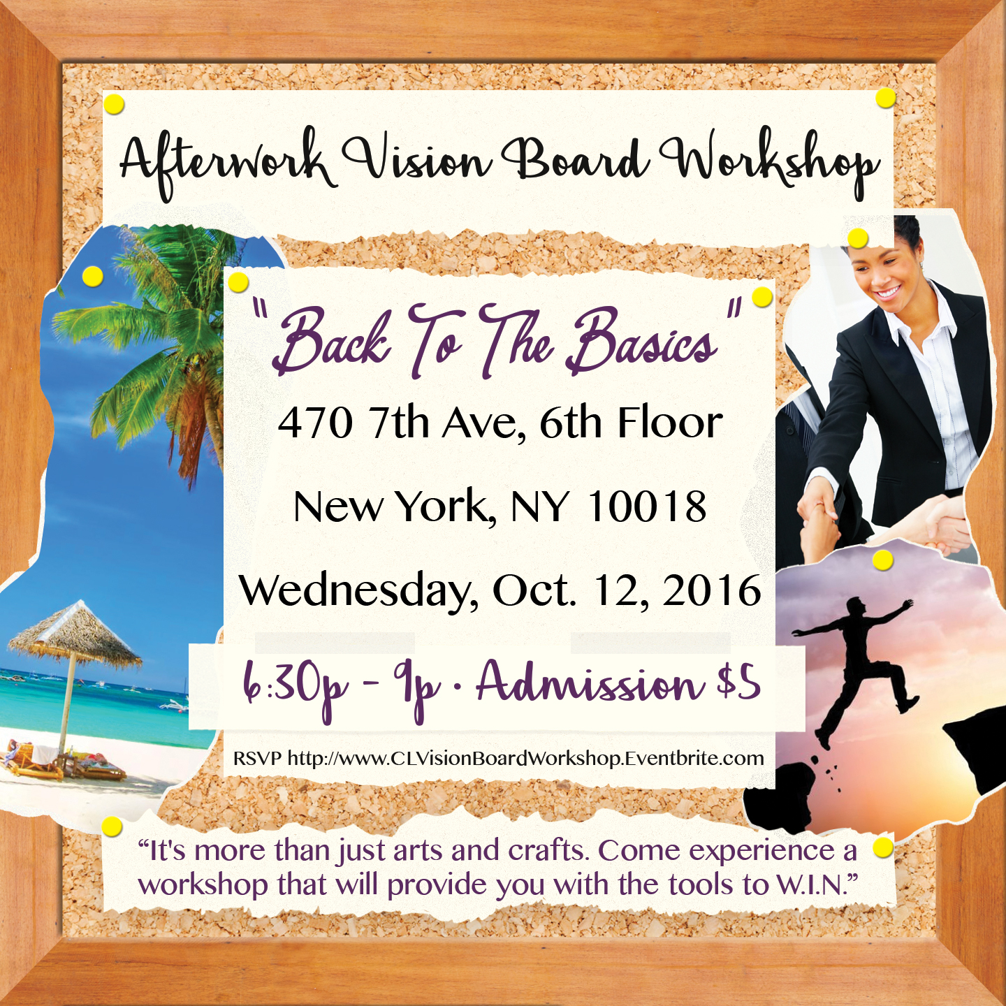 visionboardparty_flyer - Vision Board Party Invitation