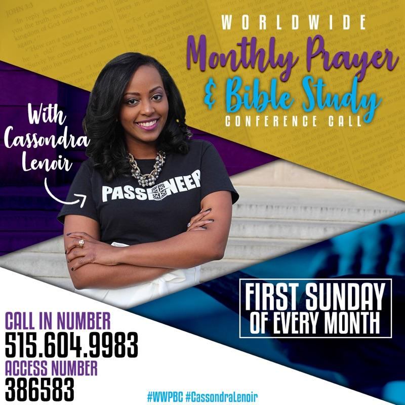 Worldwide Monthly Prayer & Bible Study Conference Call ...